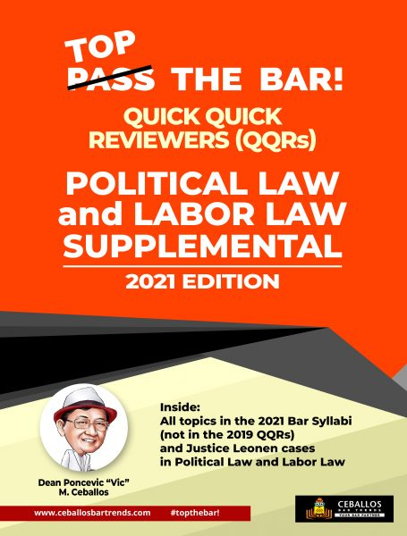 Supplemental - Pol & Labor Law Front COVER